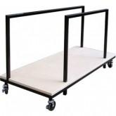 folding table trolley